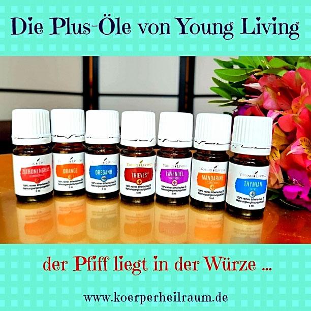 Bild: Young Living Plus Öle im Kokoro
