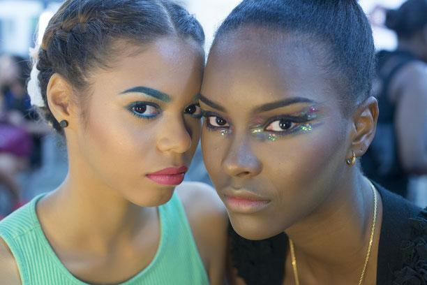 Les deux modèles de la soirée. (Photos : Yvan Cimadure-Méry)