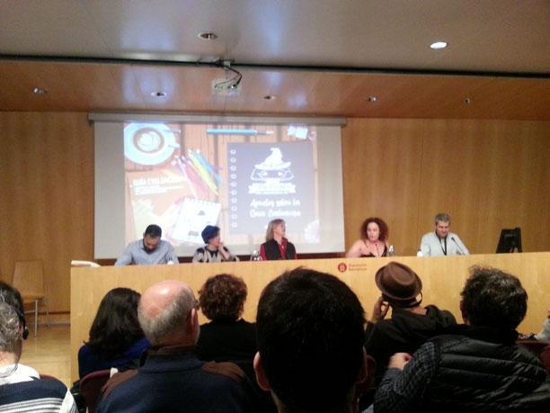 OIDP, Barcelona, Mesa Redonda, Guía Evaluación, Indicadores, Sarah Hoeflich, Alberto Fernández, Josh Lerner, Miriam Sol, Patricia Martínez García