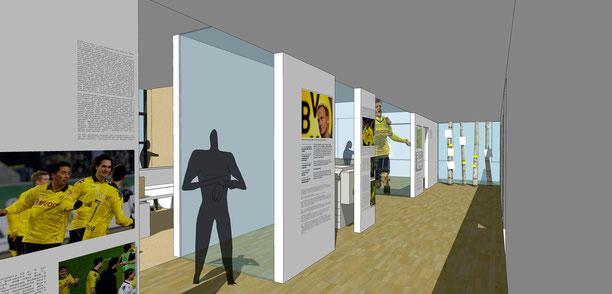 Artrion BVB Geschäftsstelle ausbau 2011 presseabteilung drahtler architekten planungsgruppe dortmund borussia