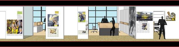 artrion bvb geschäftsstelle dortmund drahtler architekten planungsgruppe dortmund borussia