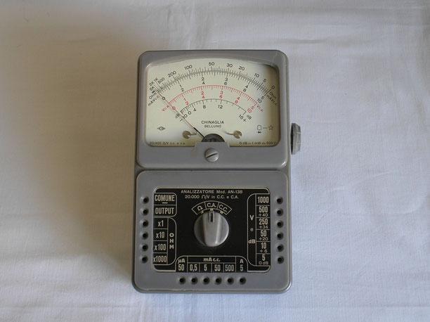 ICE - Milano - Italien - Multimeter Gleichstrom Mod. AN 138 Fertigungsjahr ca. 1960