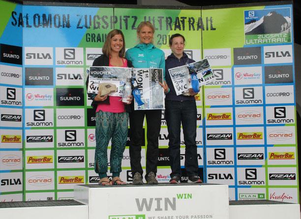 Stolze Siegerinnen auch bei den Frauen!