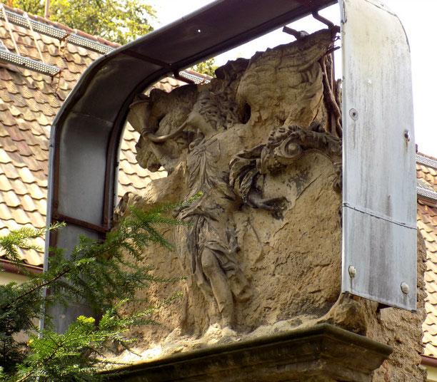 Taucherfriedhof Bautzen Grabmal Schramm Bild: Susann Wuschko