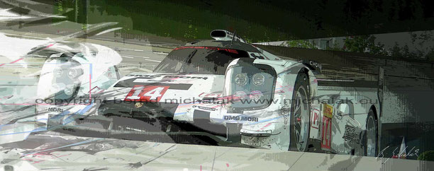 919 Porsche at Zuffenhausen