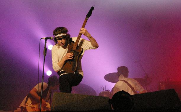 "The Kooks live 2008 beim ""Southside"". Foto: Miche Hepp"