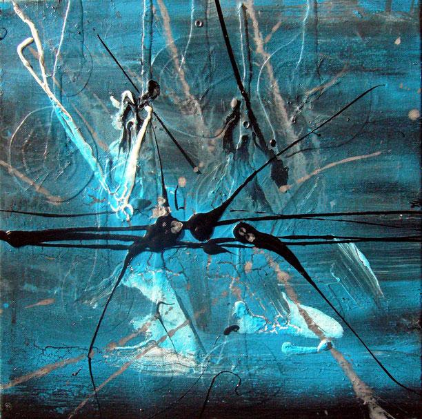 """* """"éclated"""" - 40X40 - 2011"""