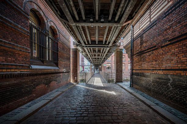 Speicherstadt Hamburg, Backstein, Hafen