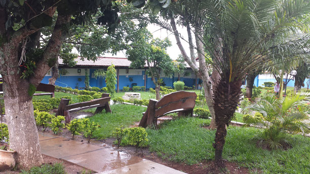 Les jardins de la Casa de Dom Ignacio
