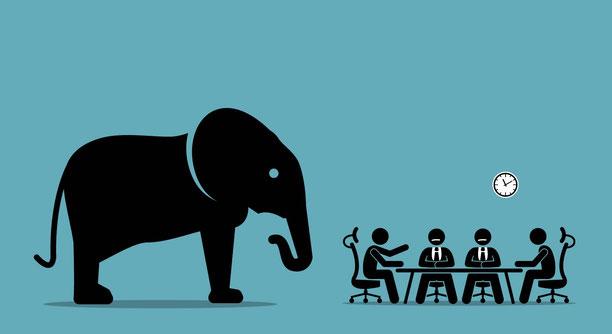 「象を食べるなら一口ずつ」のタスク分割のイメージ