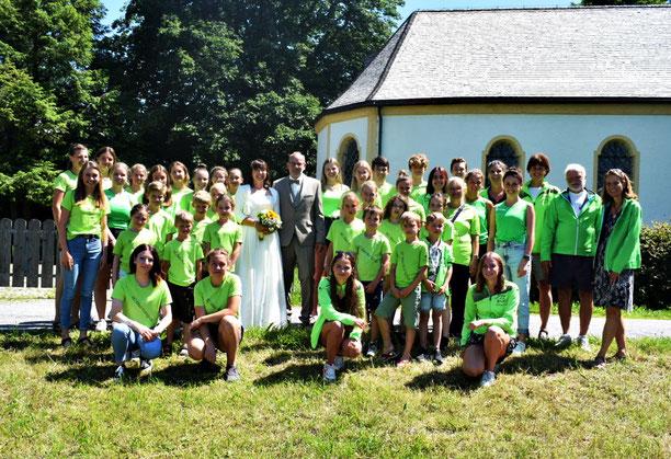 Hochzeit von Daniela und Helmut Wanner am 10.07.2021