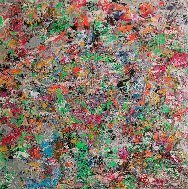 "Titel: ""JACK"" (2016), 70 cm x 70 cm"