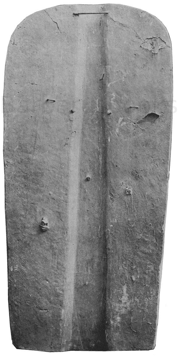 Rückseite der Pavese