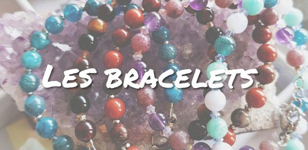 bracelets femmes lithothérapie
