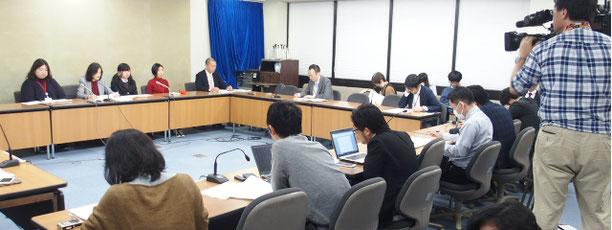 要望書提出に関する全国原告団・弁護団による記者会見(2017/12/22)