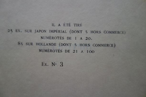 Stéphane Mallarmé, Diptyque II, Librairie de France, 1929, exemplaire sur Japon, livre rare