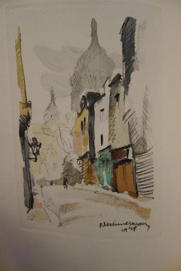 Roland Dorgelès, Montmartre mon pays, Lesage, 1928, un des 50 exemplaires sur Arches, livre rare