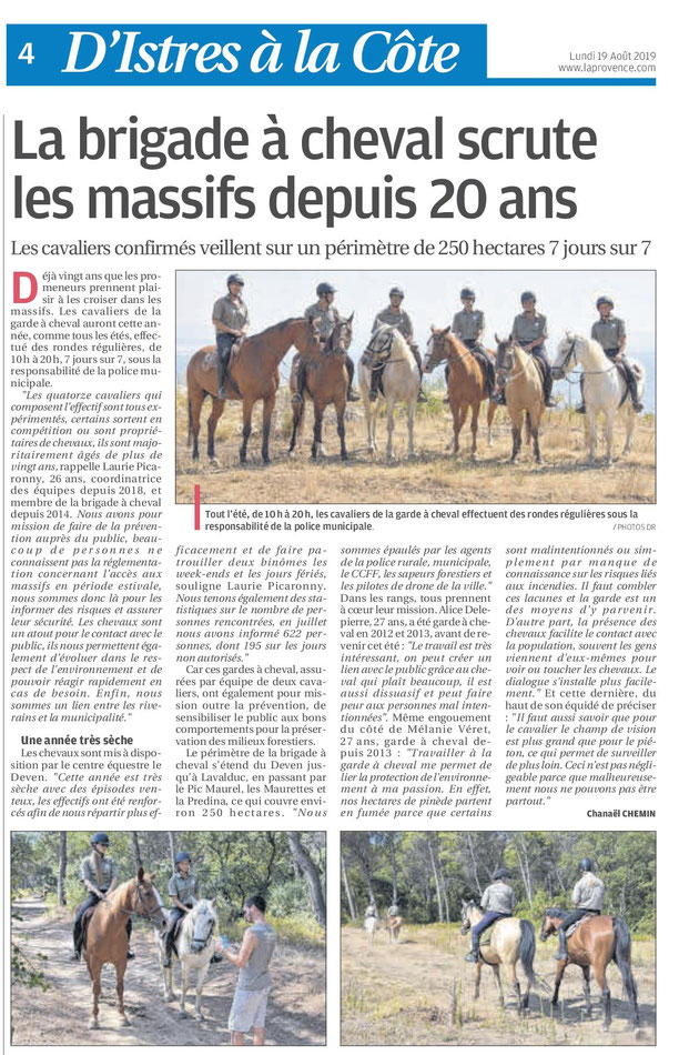 La Provence - Août 2019