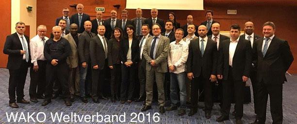 Griechenland 2016 anlässlich Europameisterschaft WAKO