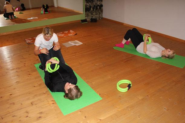 Rücken- und Beckenboden Training
