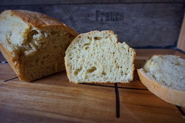 schnelles Blitz Brot aus nur 5 Zutaten die Du zu Hause hast