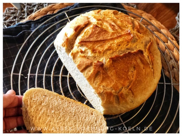 Tuerkisches Dorf-Brot aus 5 Zutaten
