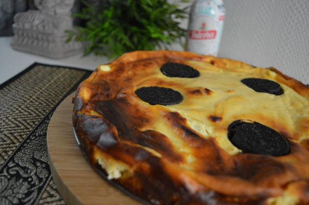 Saftiger OREO Kaesekuchen mit Keksen a la Alex