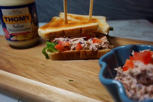 saftiges Thunfisch Sandwich wie in Madrid l Thunfisch Dip