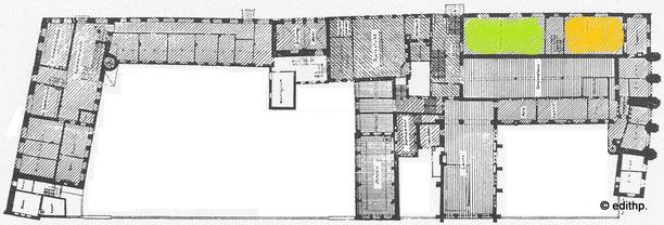 Lageplan Huldigungssaal + Traubensaal