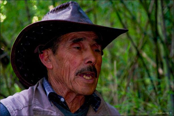 Pedro, 85 ans, et fier de son peuple