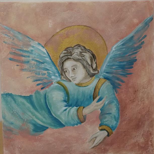 Engel auf alt getrimmt