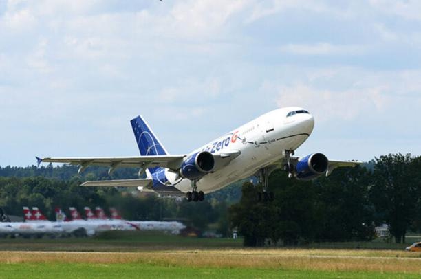 Forschungsflugzeug   Quelle: UNI Zürich