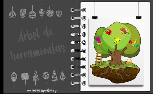 árbol de herramientas, criterios, evaluación, indicadores, herramientas de tierra, herramientas de raíz, herramientas troncales, herramientas de rama, herramientas de fruto, semillas
