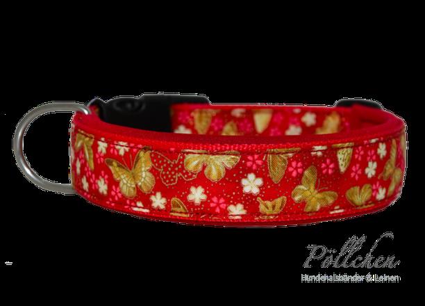 edles Halsband für Hunde - auch in Übergrößen XXL und Zugstopp bzw. Schlupfhalsband