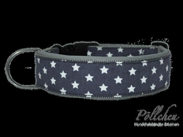 Halsband für Hunde mit Neopren und süßen Sternen