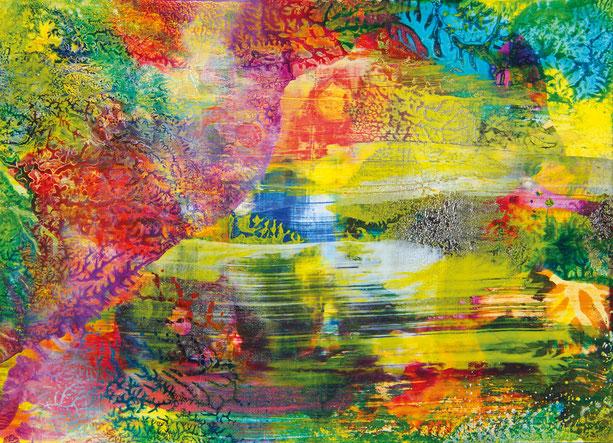 Kunstwerk PARADISE auf ARTS IV als Acrylglas- oder Schattenfugenrahmen-Druck bestellen