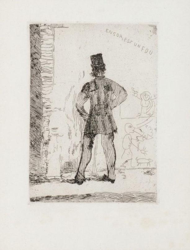 《立小便をする人》1887年