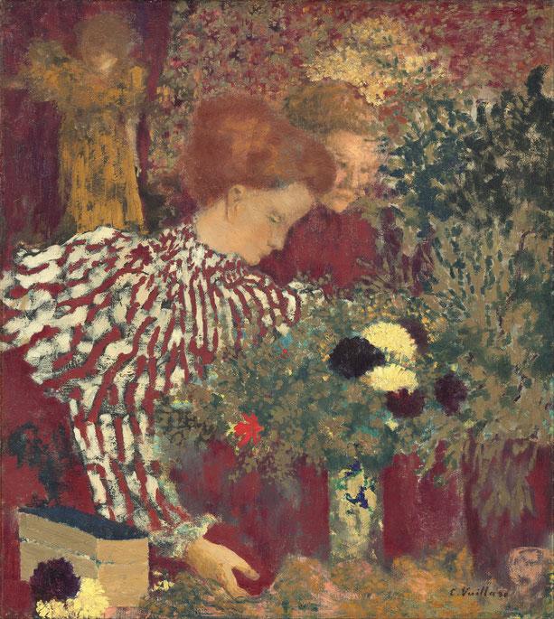 《縞模様のブラウス》1895年