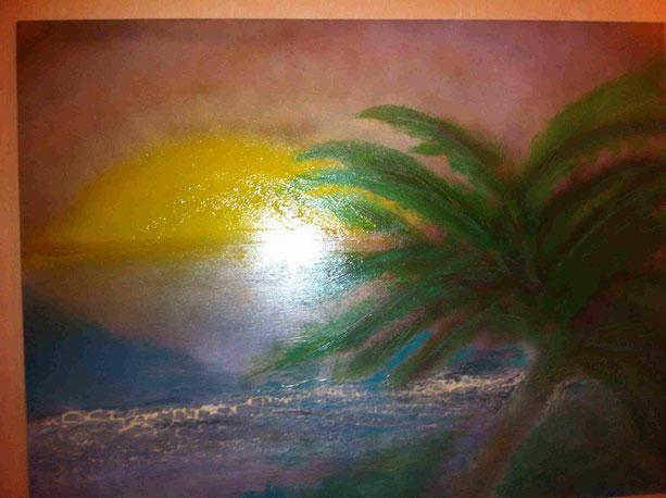 Sonnenaufgang im indischen Ozean. Zur Zeit leider nur in der Erinnerung erlebbar. Fernweh ist meiner Meinung nach wie Heimweh, nur schlimmer!