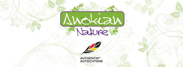 Logo Anokian Nature Authentik Autochtone produits naturels pour le corps
