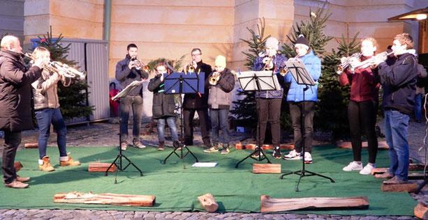29. 11. 2019: Trompeten-Ensemble der Klassen Gerald Hoffmann und Franz Neubauer