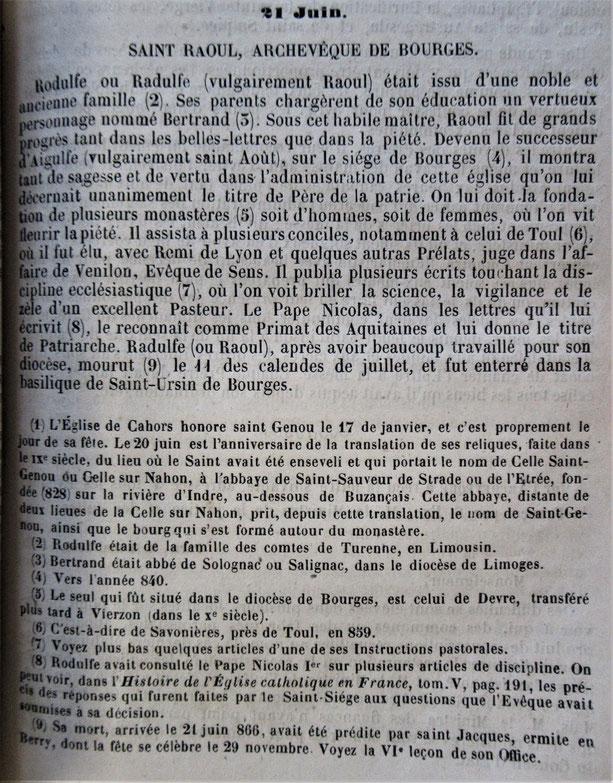 Semaine Religieuse du Berry de 1895
