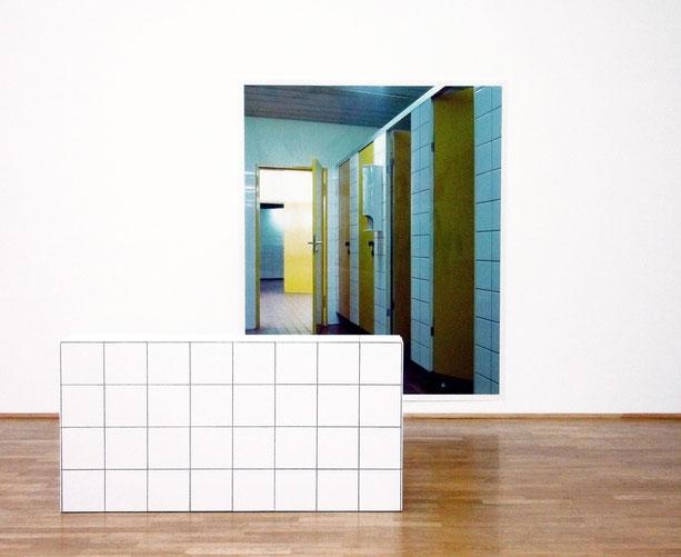 untitled, installation view at MMK, Frankfurt, 2006