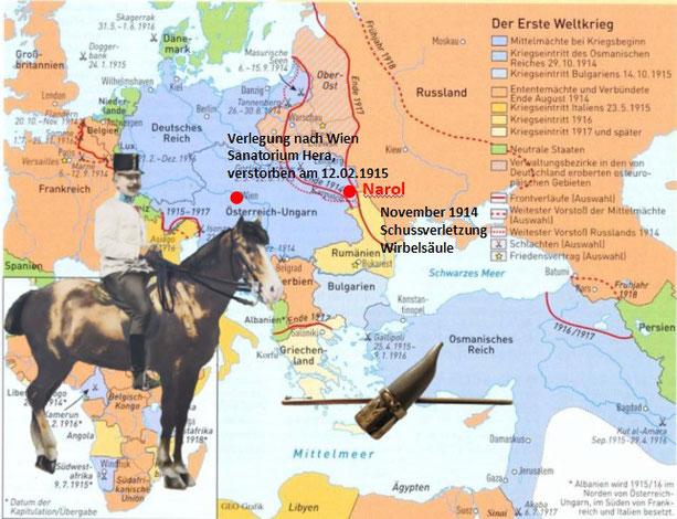 Weitere Informationen zum Infanterieregiment 4 unter http://www.weltkriege.at/Regimenter/Infanterieregimenter/IR%20004/Infanterrieregiment%20004.htm