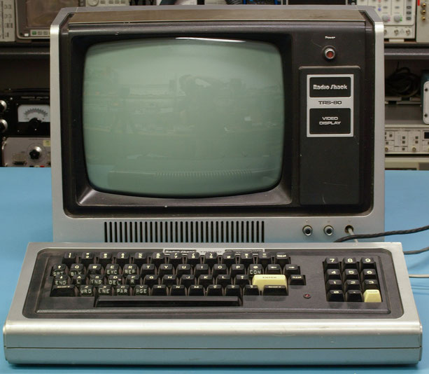 TRS 80 Computer