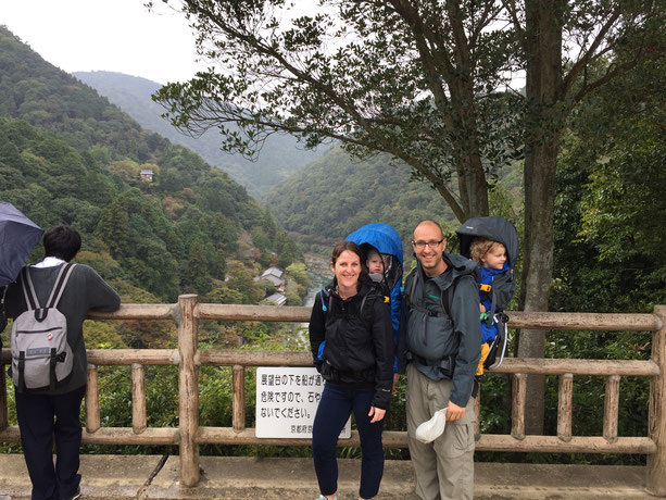 Kyoto - 7 Day Itinerary For Active Families with Small Kids - A Walk Through Arashiyama Park