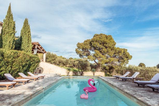 Maison de famille à louer au coeur de la Provence