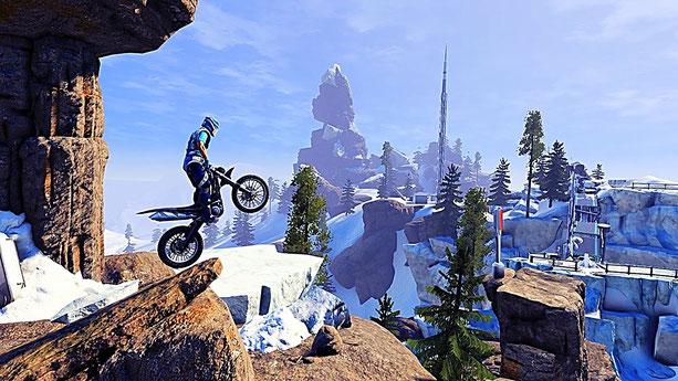 Motorrad Spiele: Trails Fusion