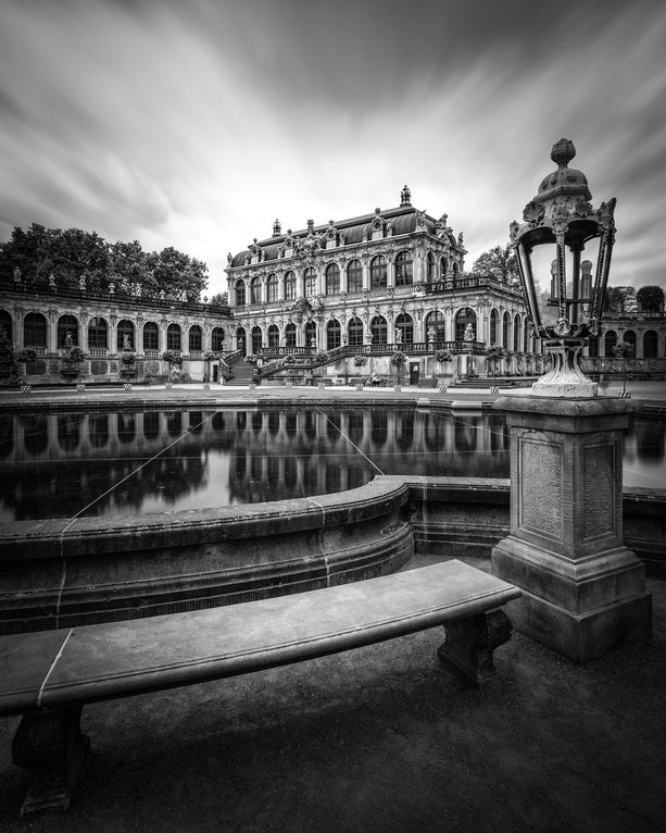 Dresdener Zwinger :: Copyright Martin Schmidt, Fotograf für Schwarz-Weiß Fine-Art Architektur- und Landschaftsfotografie aus Nürnberg