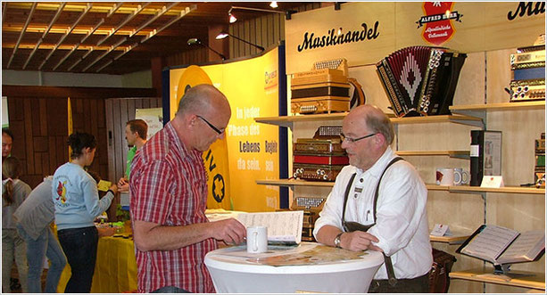 Messestand Alfred Herr